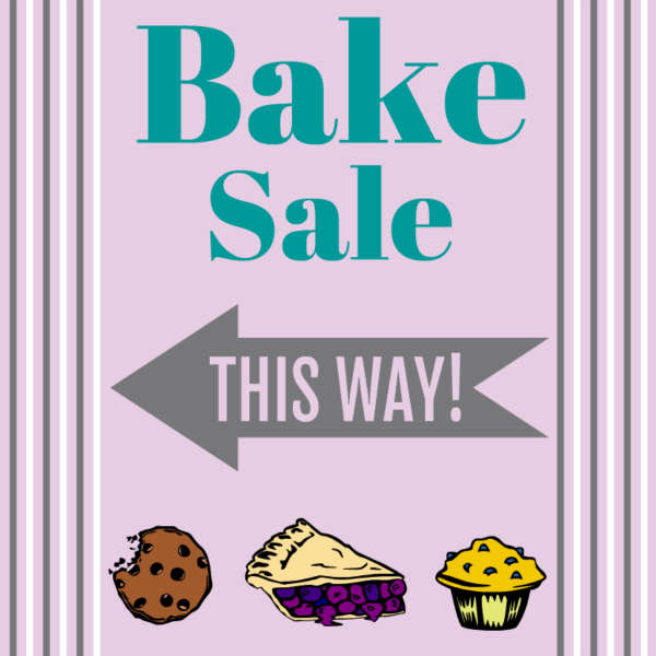 600x600 Decals For Bake Sale