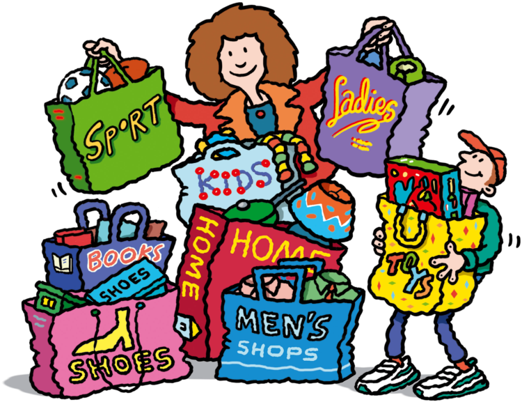 750x577 Yard Sale Items Clipart