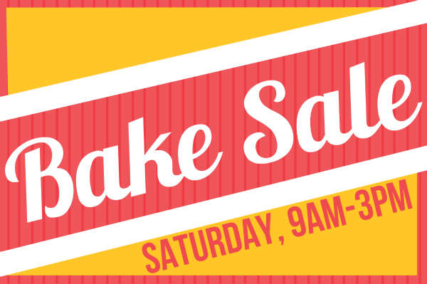 600x399 Yard Amp Lawn Signs For Bake Sale
