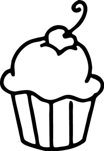 346x500 22 Best Cupcakes Images Drawings, Diy Black