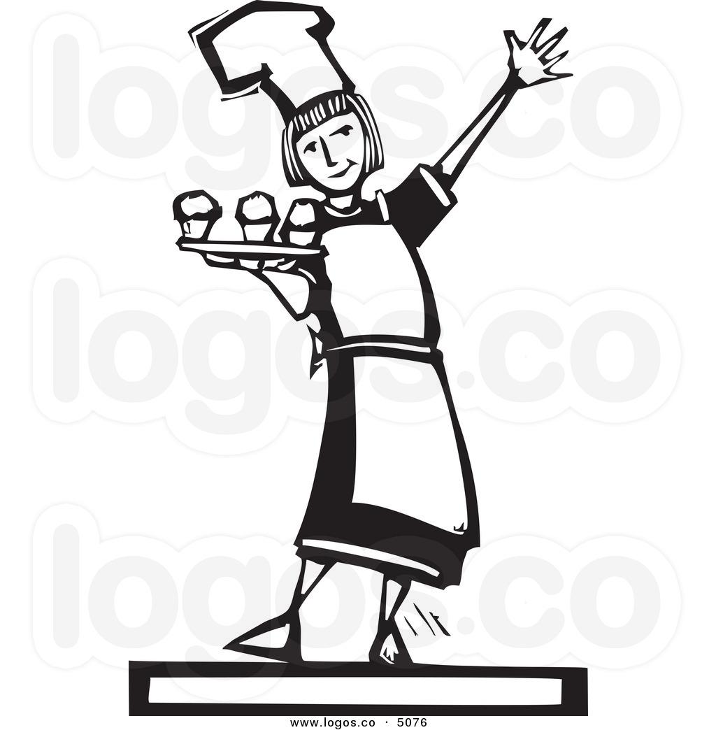 1024x1044 Woman Baker Clipart