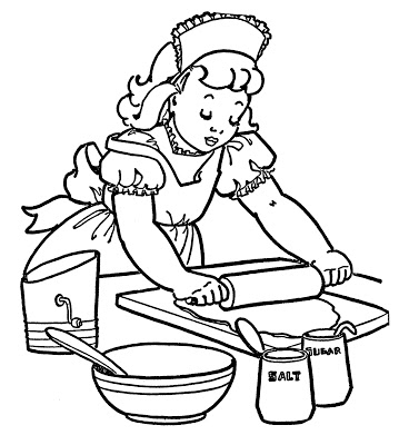 359x400 Black And White Clipart For Kids
