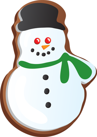 321x450 Baking Clipart Christmas Cookie