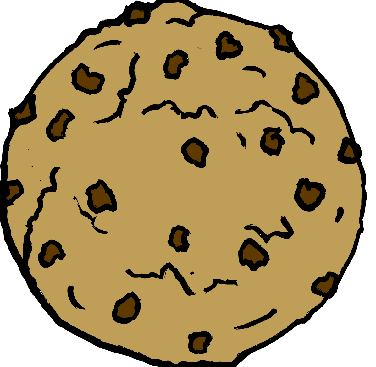1196x1168 Chocolate Chip Cookie Clipart 2