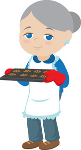 163x300 Baking Clipart Image