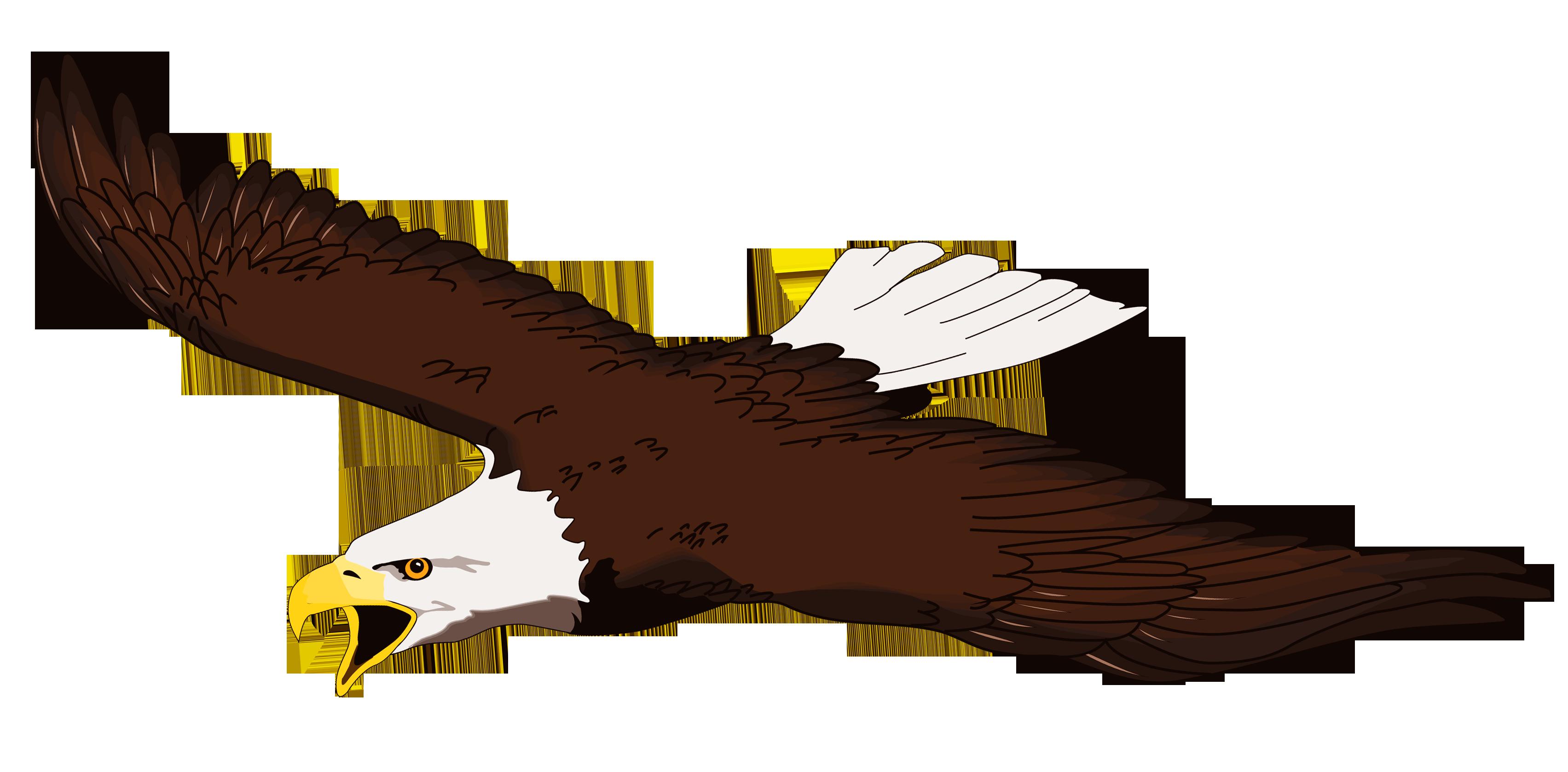3407x1678 Eagles Clipart