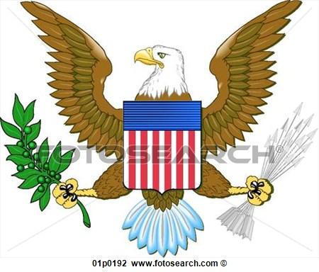 450x384 United States Eagle Clipart