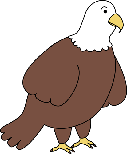 413x500 Bald Eagle Clip Art