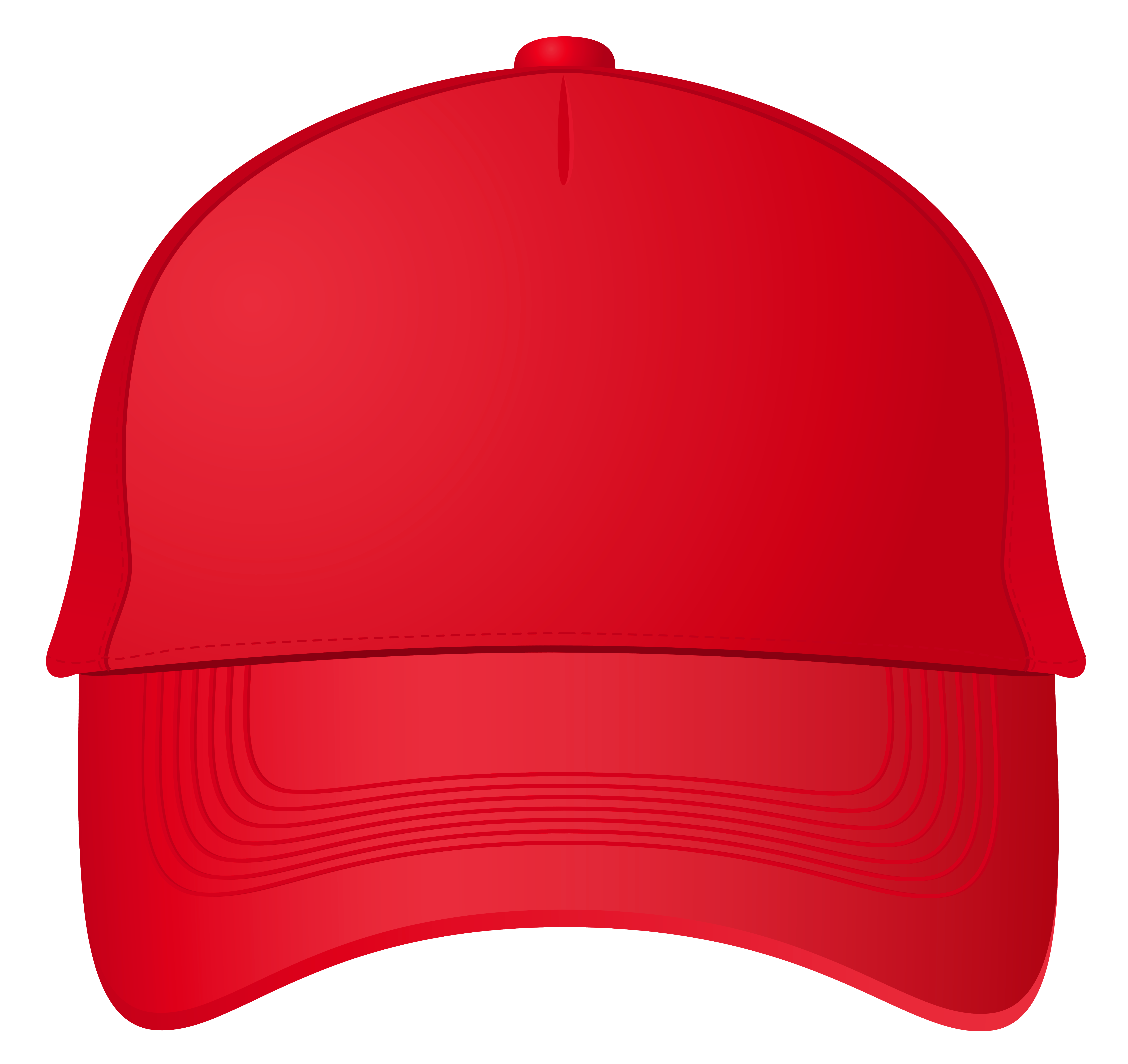 6505x6137 Red Baseball Cap Png Clipart