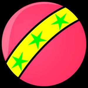 300x300 Pink Ball Clip Art