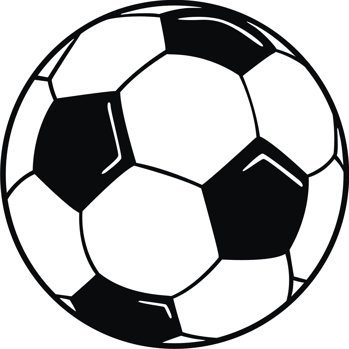 1219x1219 Soccer Ball Border Clip Art Free Clipart Images
