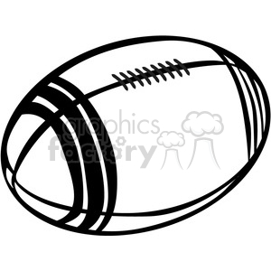 300x300 Rugby Ball Clipart Black And White