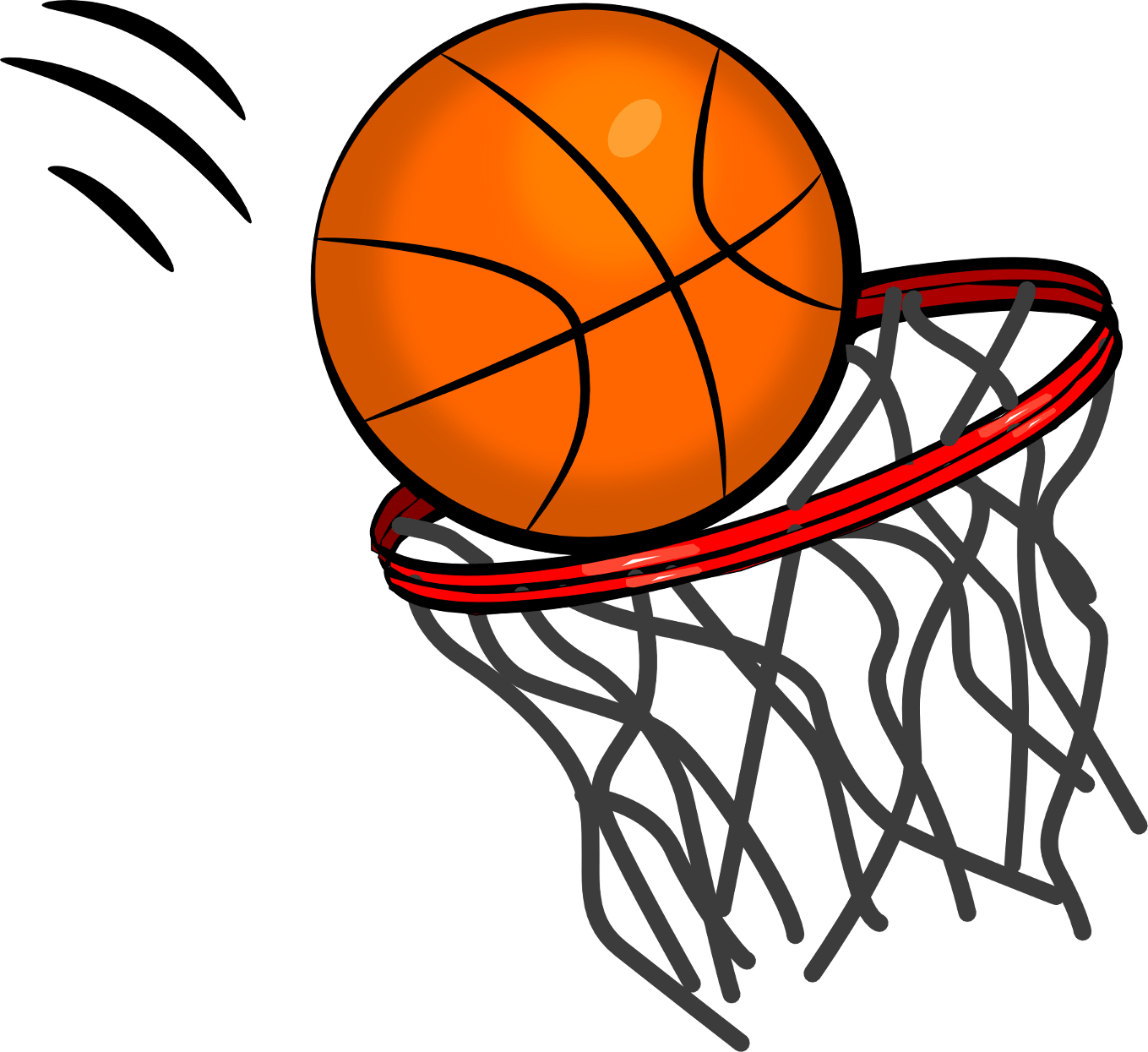 1359x1245 Basketball Ball Transparent Png