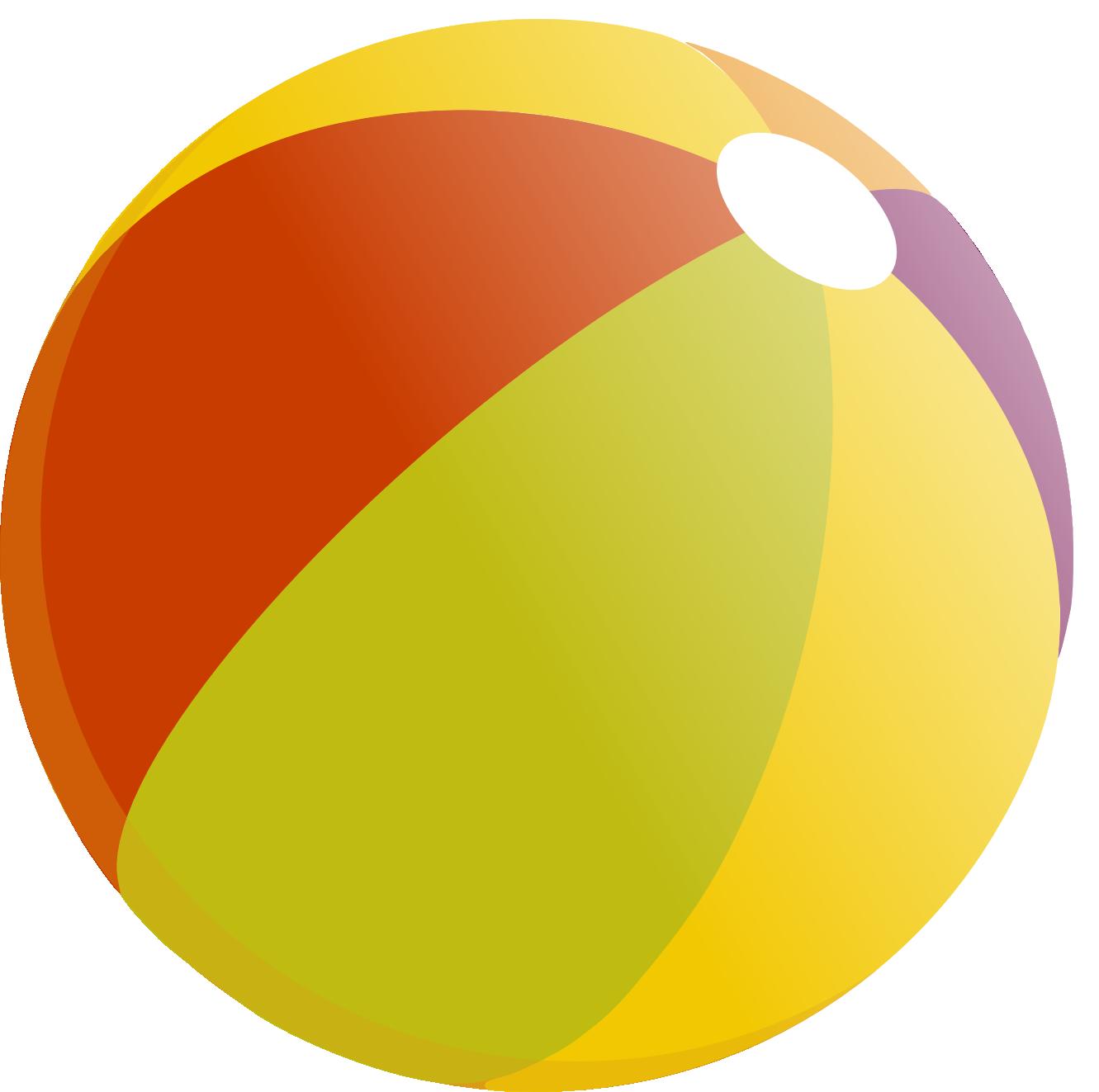 1331x1323 Free Beach Ball Clip Art Image 1 3