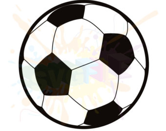 340x270 Soccer Ball Svg Etsy