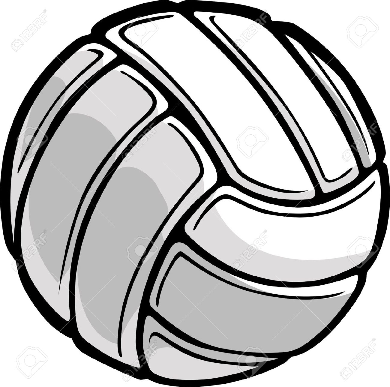 1300x1290 Volleyball Ball Clipart