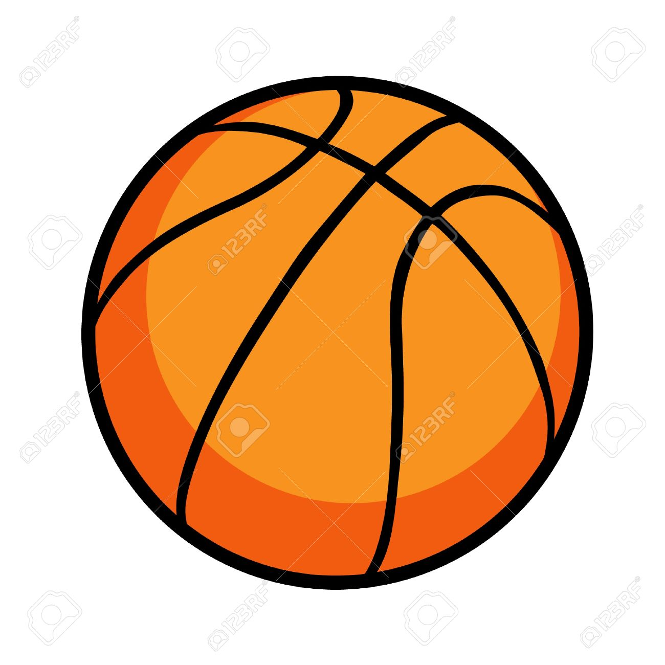 1300x1300 Ball Clipart Cartoon Basketball