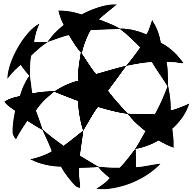 389x389 Uefa Champions League Ball Logo Transparent Png
