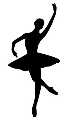photograph about Ballerina Silhouette Printable titled Variety of Ballerina clipart Cost-free obtain ideal
