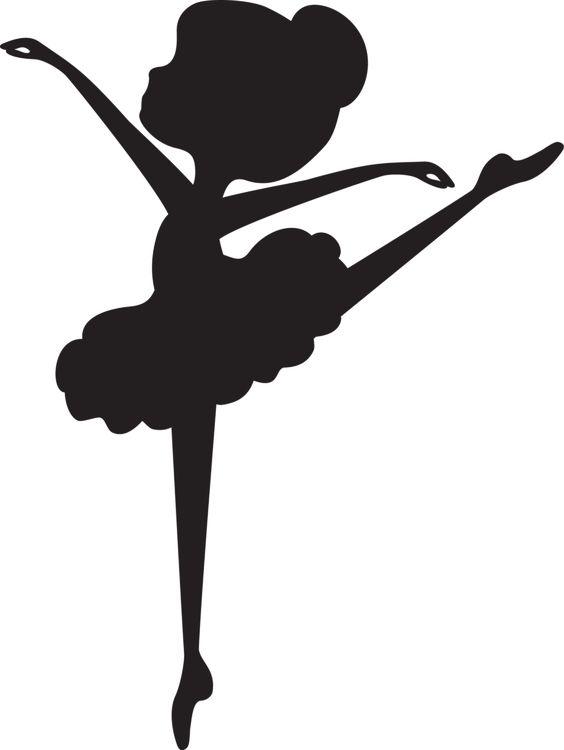 photo regarding Printable Ballerina Silhouette named Variety of Ballerina clipart Cost-free down load great