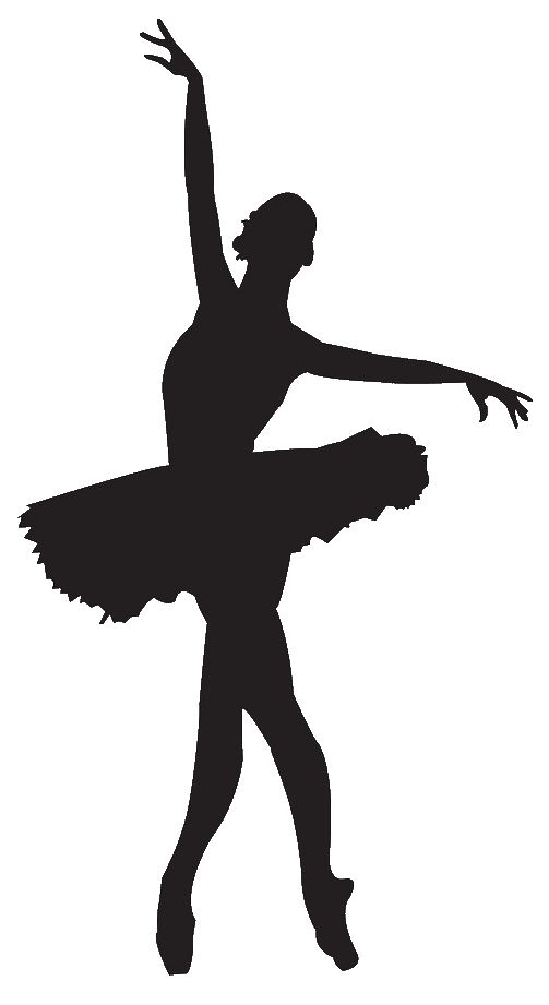 503x921 Ballerina Ballet Dancer Clipart Silhouette Free Images 2