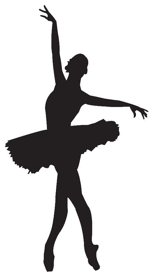 503x921 Ballerina Ballet Dancer Clipart Silhouette Free Images 2