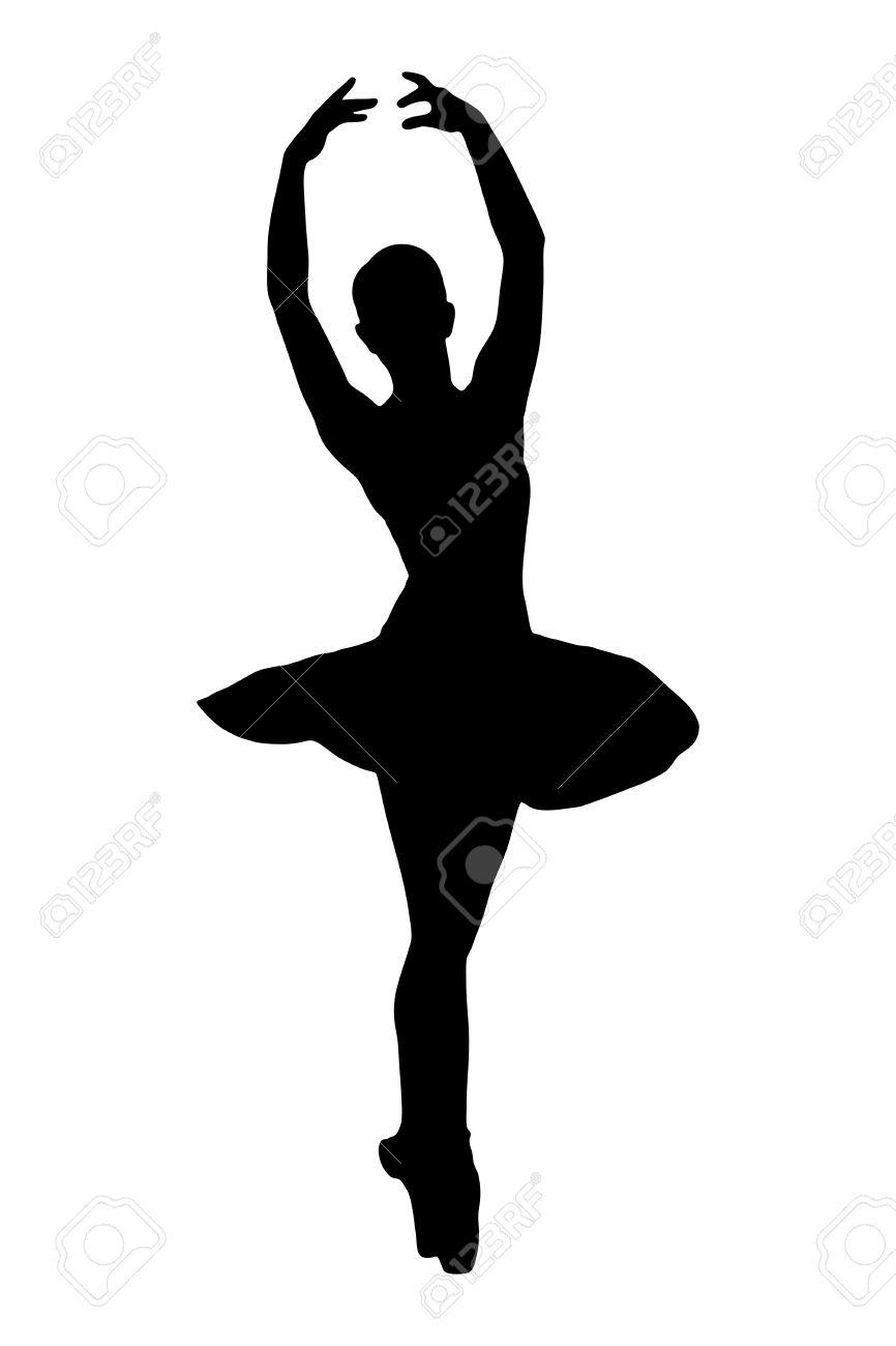 866x1300 Ballerina Clipart Poses
