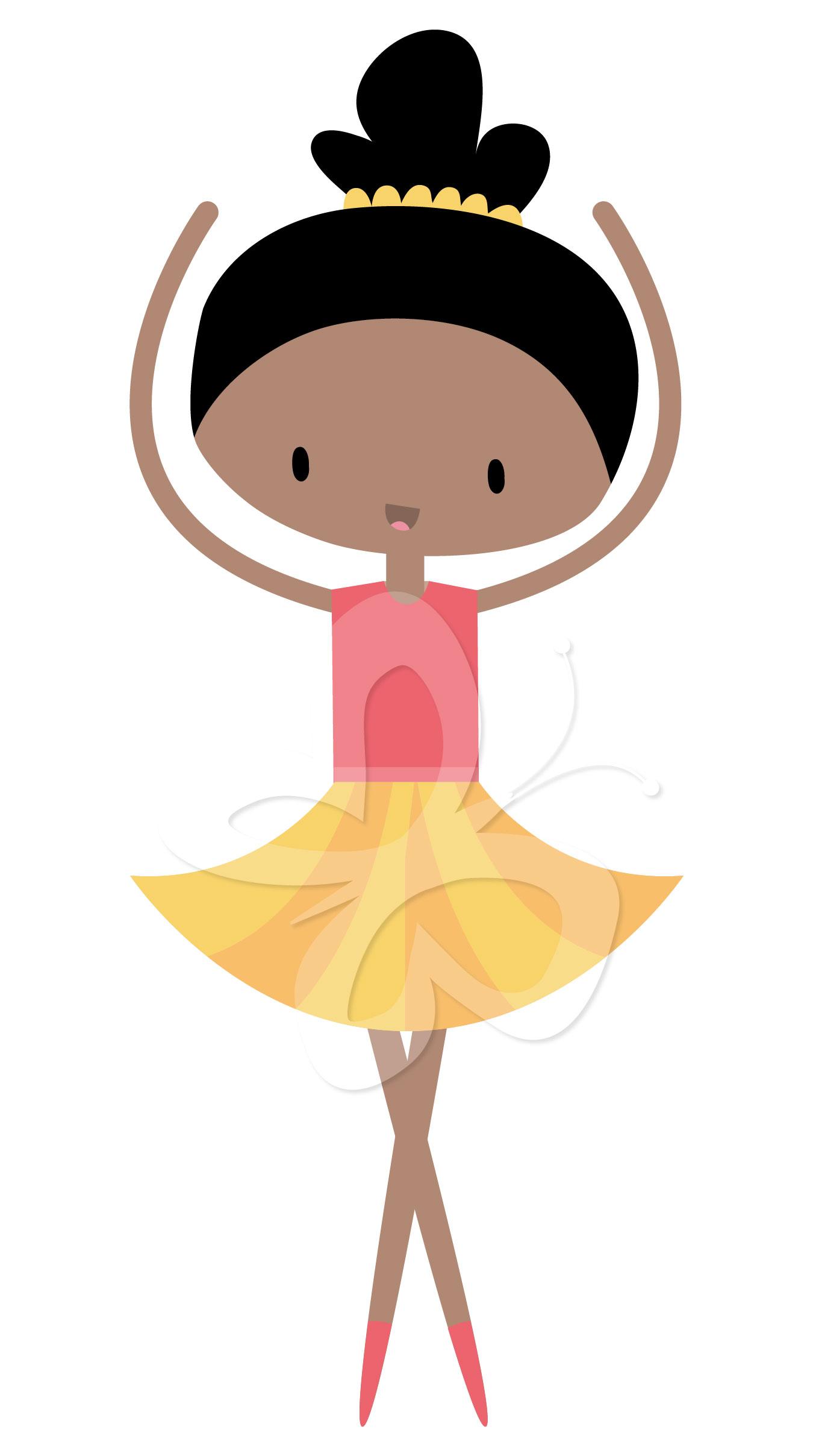 1350x2416 Ballet Clipart Cute Ballerina