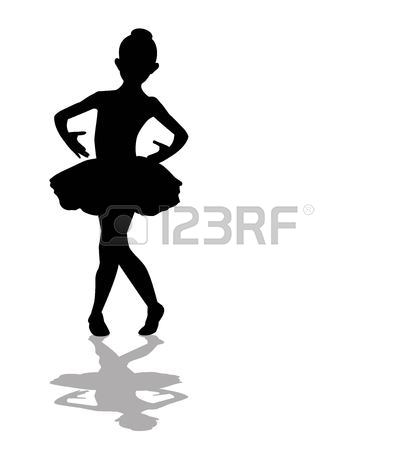 414x450 6,801 Ballerina Girl Stock Illustrations, Cliparts And Royalty