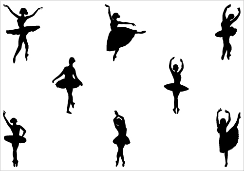 501x351 Image Of Ballerina Clipart