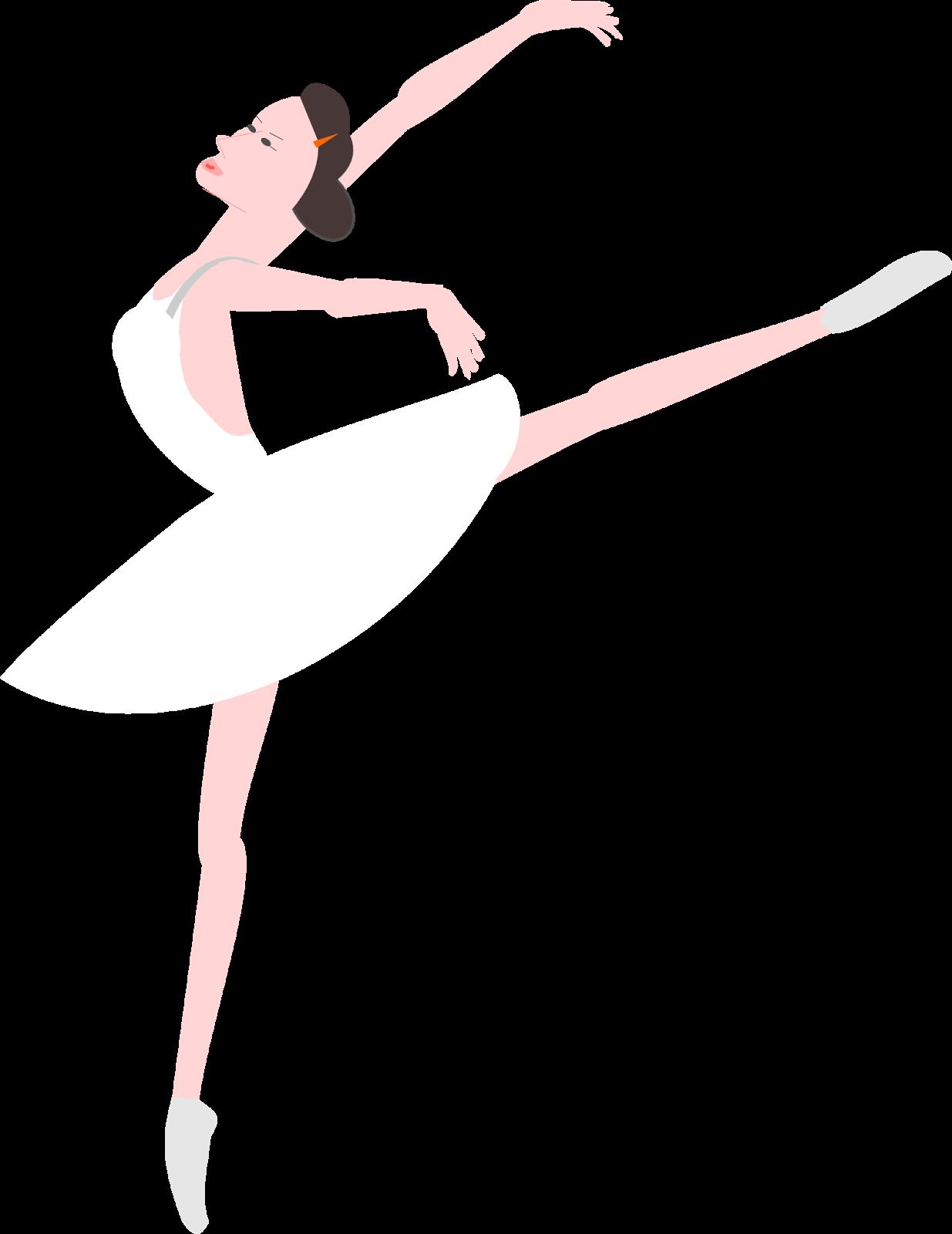 1235x1600 Free Printable Ballerina Png