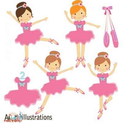 400x400 Ballerina Clipart