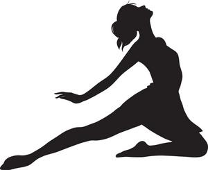 300x245 Ballet Dancer Clipart Illustration Of A Ballet Dancer. Clipart