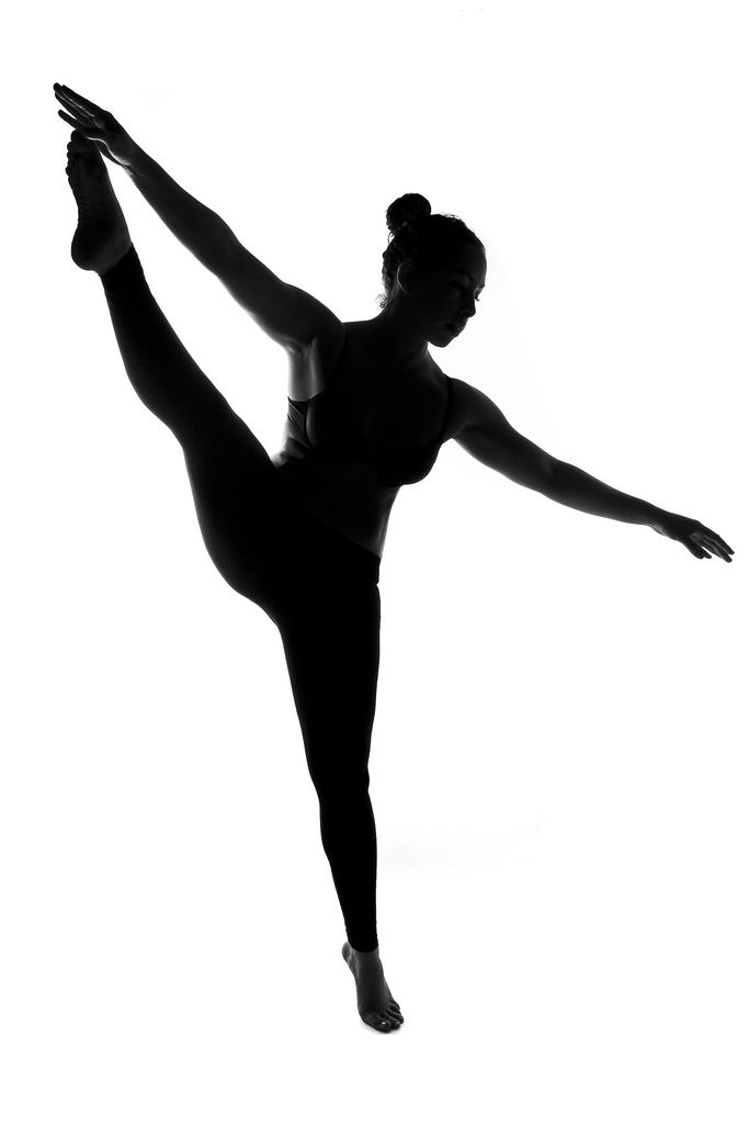 Ballet Dancer Silhouette Clipart