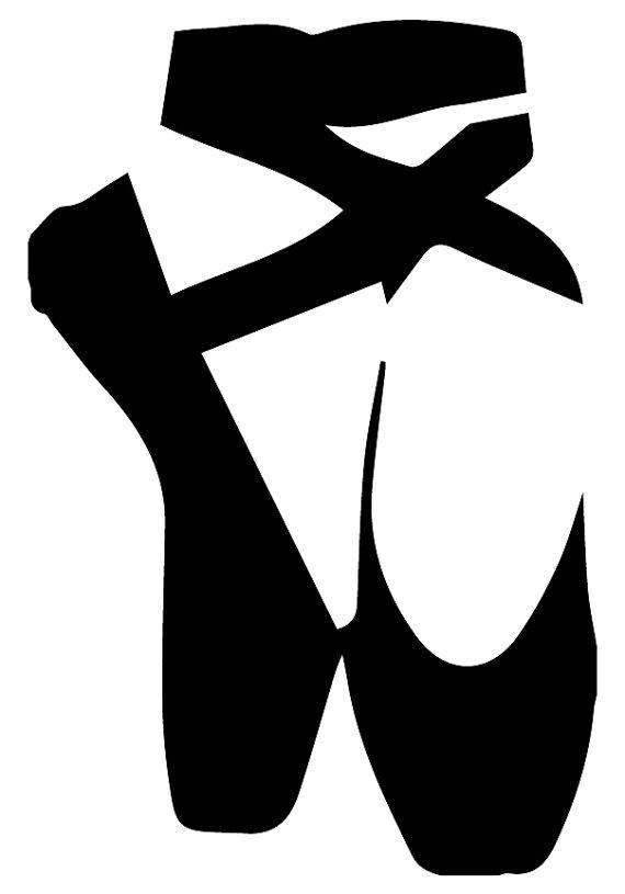 570x815 Pointe Shoes Custom Stencil Custom Stencils Multiple