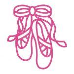 150x150 Ballet Shoes Clipart Ballet Slippers Line Art Free Clip Art Fee
