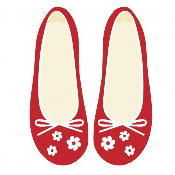 Ballet Shoes Clipart