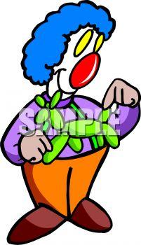 201x350 Clown Making Balloon Animals