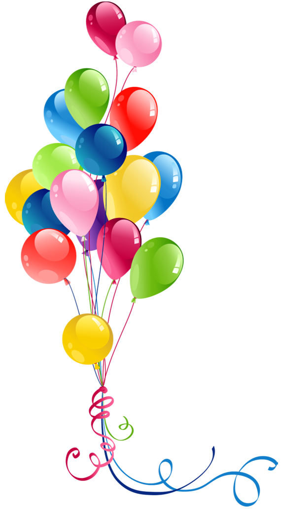 570x1032 Free Birthday Balloon Clip Art Free Clipart Images 8 2