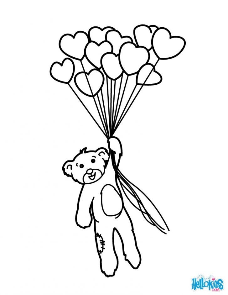728x941 Adult ~ Balloon Animal Coloring Page Clip Art Balloon Pages