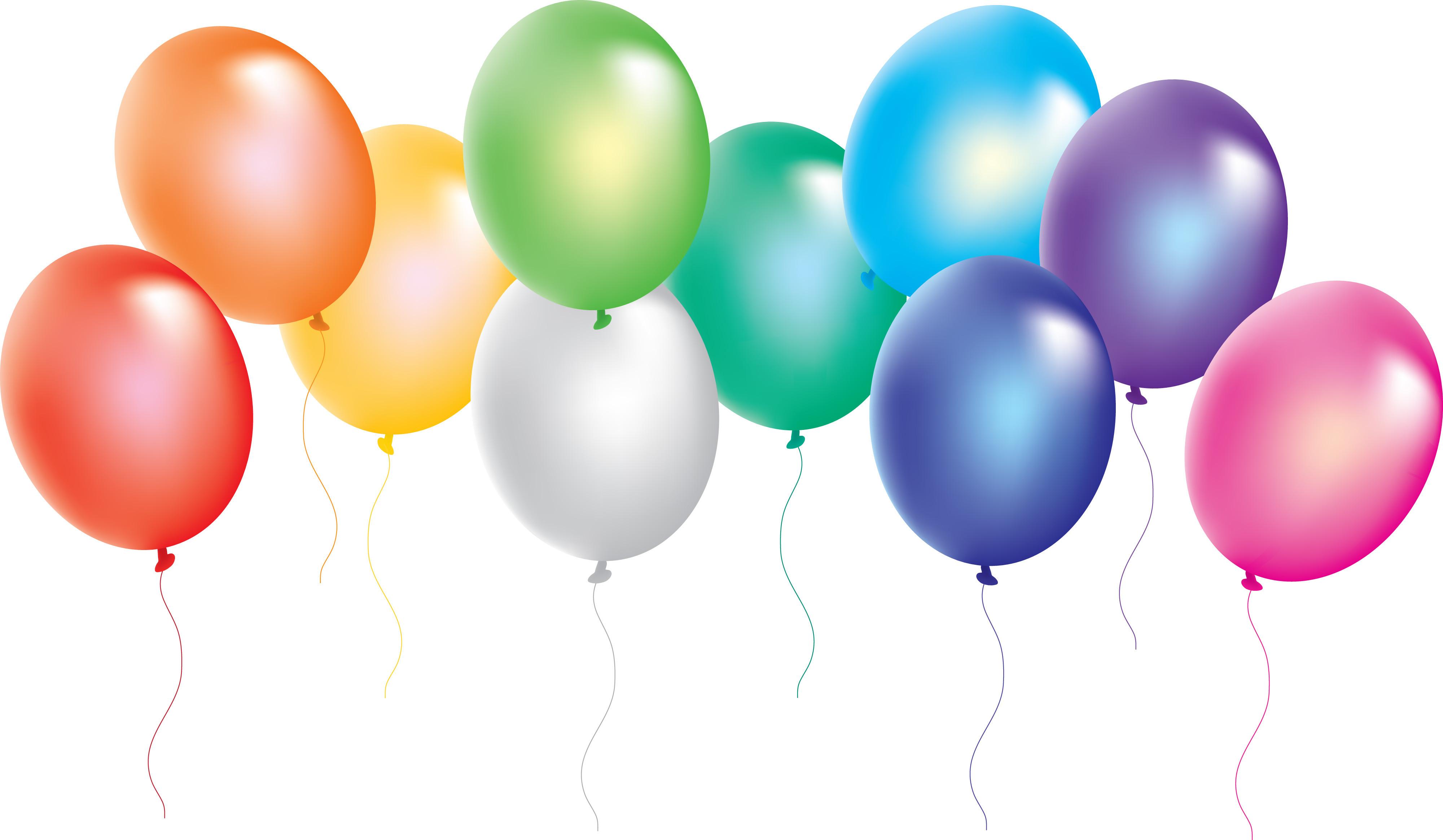 4000x2329 Balloon Clipart Congratulation