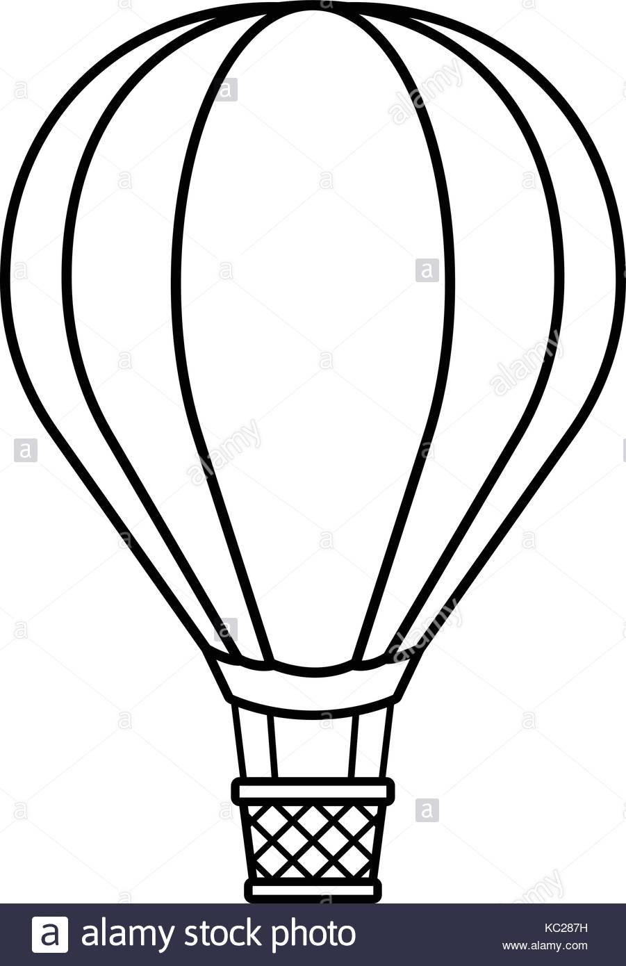 901x1390 Hot Air Balloon Cartoon Black And White Stock Photos Amp Images