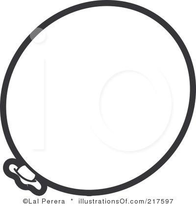 400x420 Balloon Clip Art Outline Clipart Panda