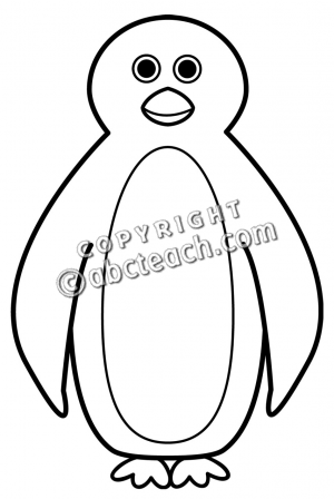 300x448 Penguin Clipart Black And White Penguin With Balloons Black