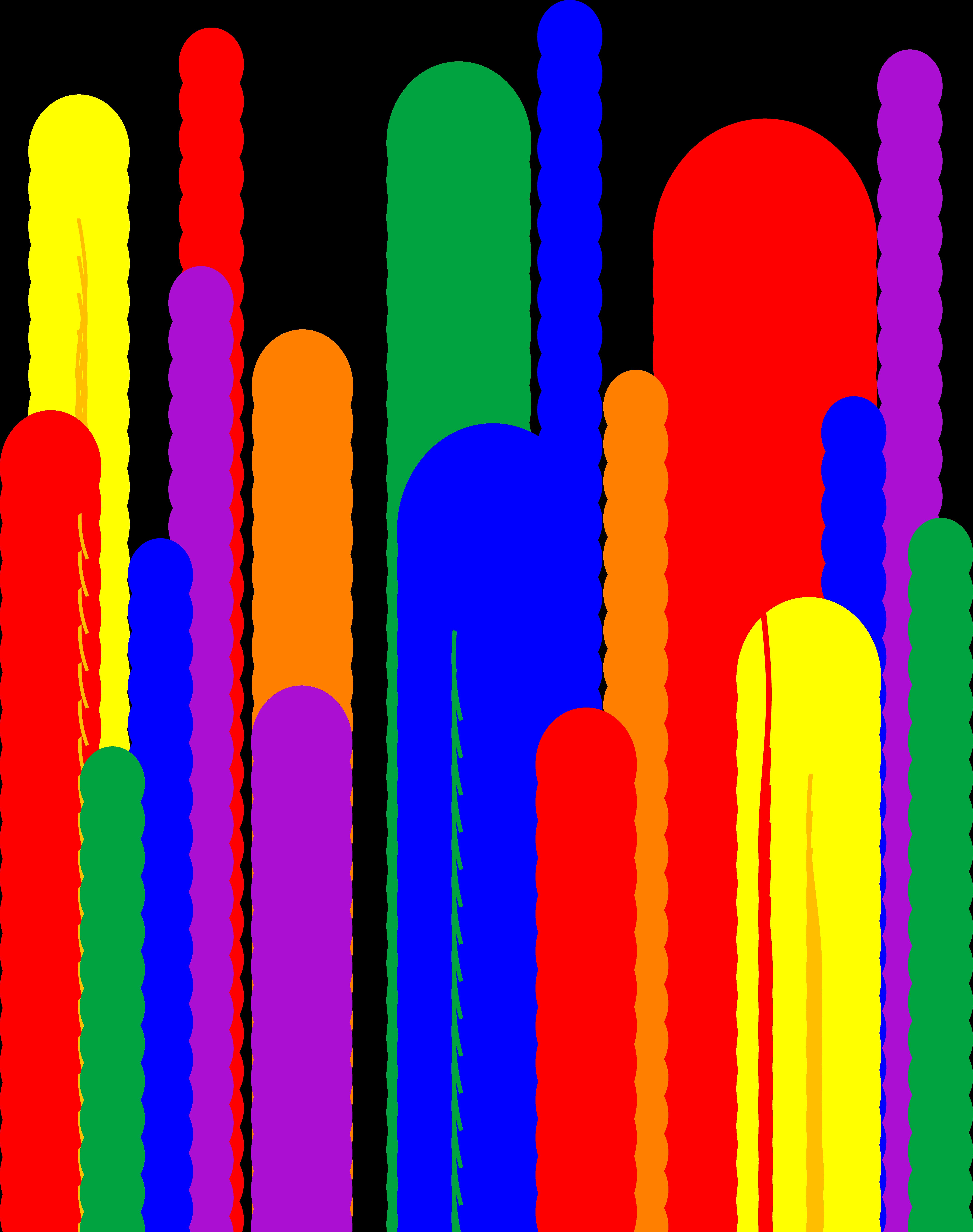 5847x7402 Balloon Clipart Backdrop