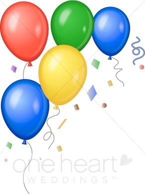 291x388 Balloon Clipart Corner Border