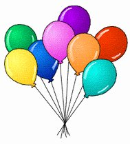189x209 Free Birthday Balloon Clipart