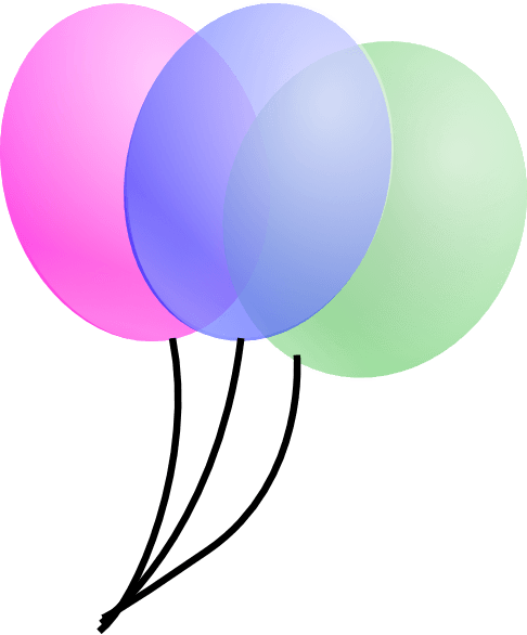 486x586 Balloons Clip Art