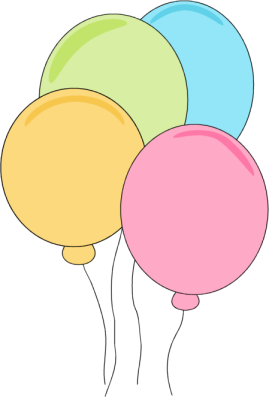 269x397 Cute Ballon Clipart