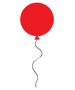 250x300 Free Red Balloon Clipart Peppa Pig Red Balloon